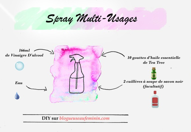 Fiche Spray nettoyant multi-usages